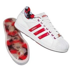 adidas(アディダス) トリビュート ICE Men's 25.5cm ランニングW×レイディアントレッド×インフィニティ