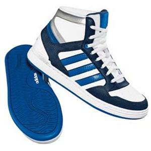 adidas(アディダス) ドリスコル Hi Kid's 24.5cm ランニングW×エアフォースBL×ワンダーグロー