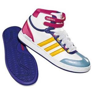 adidas(アディダス) WJ Mid Kid's 23.0cm ランニングW×ワンダーグロー×レイディアントピンク