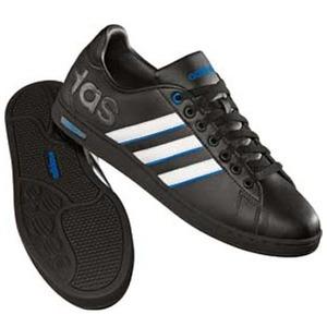 adidas(アディダス) DRB Men's 25.5cm ブラック×ランニングホワイト×エアフォースブルー