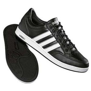adidas(アディダス) ウインザーストライプ Men's 25.5cm ブラック×ランニングホワイト×メタリックシルバー