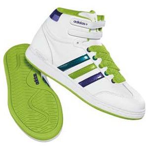 adidas(アディダス) WJ MID Women's 24.5cm ランニングW×レイディアントグリーン×ダークP