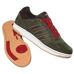 adidas(アディダス) ホーペル Men's 25.0cm オークF10×ダークブラウン×ウィート