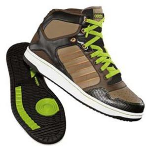 adidas(アディダス) ホーペル Hi Men's 25.0cm ミディアムK×ディーペストアース×レイディアントG