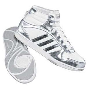 adidas(アディダス) スリムコート MET MID Women's 23.5cm ランニングW×メタリックSL×ランニングホワイト