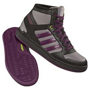 adidas(アディダス) ドリスコル Hi Kid's 22.5cm BK×ディーペストP×レイディアントグリーンF10