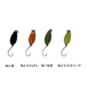 Aniデザイン(オフィス・ユーカリ) 心 0.7g No.5 黒