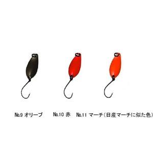 Aniデザイン(オフィス・ユーカリ) 心 0.7g No.10 赤