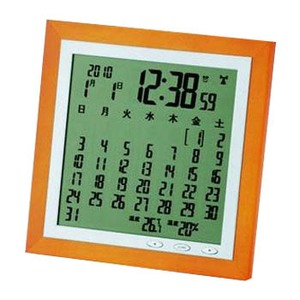 ADESSO(アデッソ) カレンダー電波時計 TSB-363