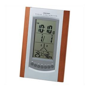 ADESSO(アデッソ) 温湿度電波クロック 8936