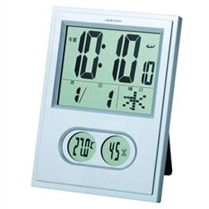 ADESSO(アデッソ) 温湿度電波クロック(置掛兼用タイプ)