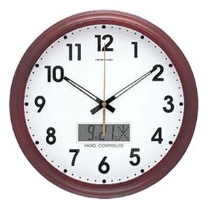 ADESSO(アデッソ) 電波掛時計 WR401 ホワイト