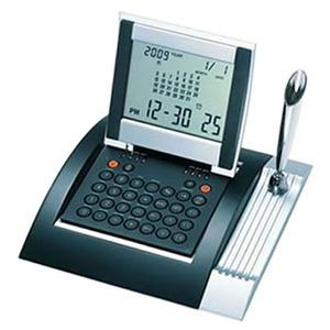 ADESSO(アデッソ) カレンダーワールド電卓クロック AQ-350