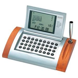 ADESSO(アデッソ) カレンダーワールド電卓クロック AQ-262