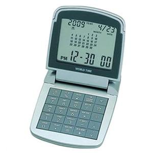 ADESSO(アデッソ) カレンダーワールドタイム電卓 AQ-706