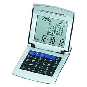ADESSO(アデッソ) カレンダーワールドタイム電卓 8150