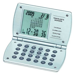 ADESSO(アデッソ) カレンダーワールドタイム電卓 8125