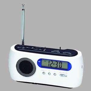 ADESSO(アデッソ) ダイナモAM/FMラジオクロック