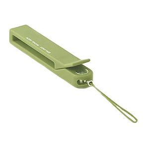 ABITAX(アビタックス) 携帯電話用 クリップストラップ オリーブ