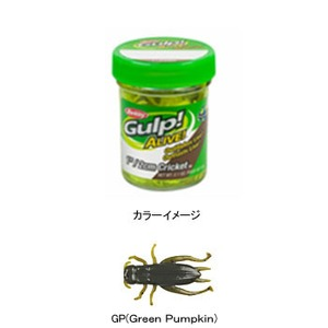 バークレー Gulp! Alive 1 Cricket 1インチ GP(Green Pumpkin)