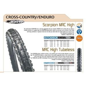 Hutchinson(ユッチンソン) スコーピオン MRC High 26x2.00 ブラック/シルバー