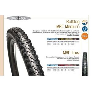 Hutchinson(ユッチンソン) ブルドッグ MRC Medium チューブレス 26x2.50 ブラック