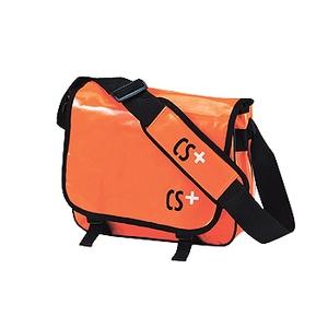 CS+ CS+ ターポリンショルダーバック S オレンジ