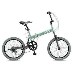 GIC(ジック) cube(キューブ)20インチ折りたたみ自転車/C-FDB206 W-sus アクアミント