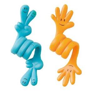 ifif(モシモシ) ハンディーワイヤー(2本セット) ブルー・オレンジ