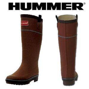 HUMMER(ハマー) ラバーブーツ レディース LL オウニ