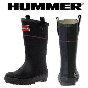 HUMMER(ハマー) ラバーブーツ ジュニア 21.0cm ブラック