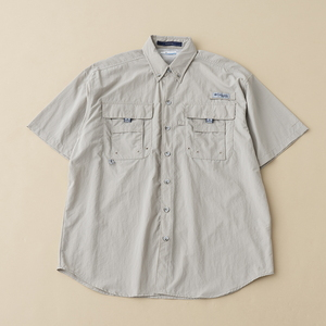 Columbia(コロンビア) バハマIIショートスリーブシャツ XL 160(Fossil)