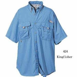 Columbia(コロンビア) バハマIIショートスリーブシャツ L 365(Sage)
