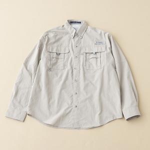 Columbia(コロンビア) バハマIIロングスリーブシャツ XL 160(Fossil)