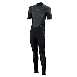 Gill(ギル) Hurakan Short Arm Wetsuit Men's XS Black