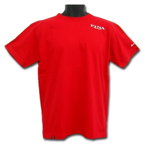 フリーノット(FREE KNOT) FINATシャツ-2 L レッド