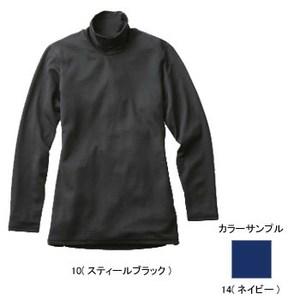 ミズノ(MIZUNO) ブレスサーモ ライトウエイトハイネック長袖シャツ Women's L 14(ネイビー)