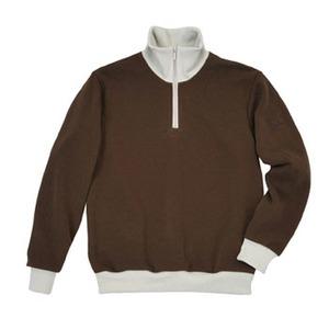 ミズノ(MIZUNO) シープフリーススウェットシャツ Men's L 55(ブラウン)