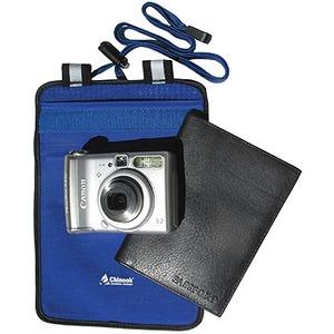 Chinook(チヌーク) アクアタイト カメラ・パスポート用ポーチ ブルー