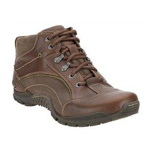 Clarks(クラークス) Rock Ride GTX 100 Mahogany Leather