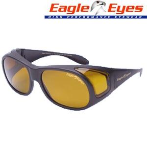 Eagle Eyes(イーグルアイ) オーバーフィット サングラス ブラック