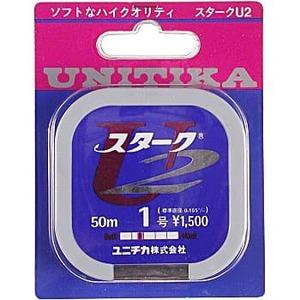 ユニチカ(UNITIKA) スタークU2 50m 2号 シルバーグレー