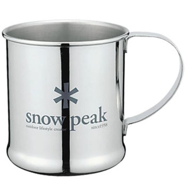 スノーピーク(snow peak) ステンレスマグカップ E-010 ステンレス製マグカップ
