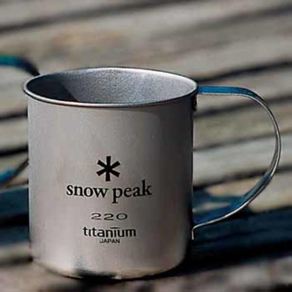 スノーピーク(snow peak) チタンシングルマグ220 MG-041 チタン製マグカップ