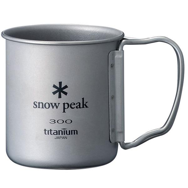 スノーピーク(snow peak) チタンシングルマグ300 MG-042 チタン製マグカップ