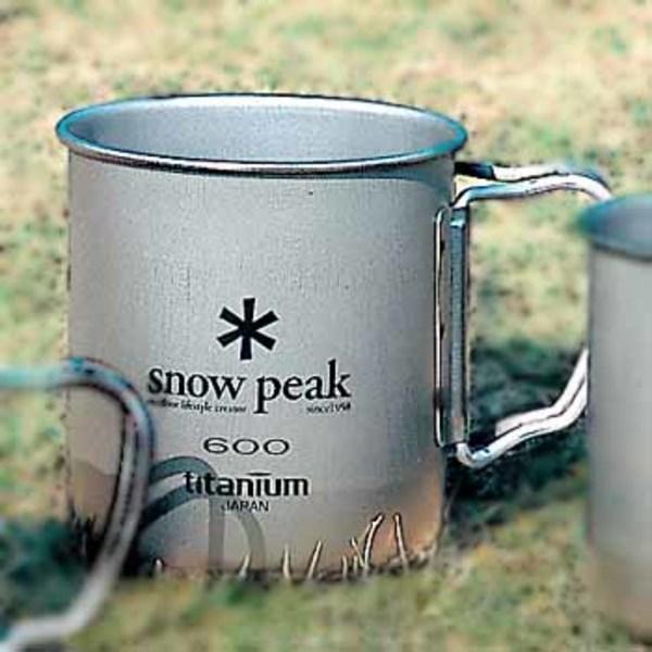 スノーピーク(snow peak) チタンシングルマグ600 MG-044 チタン製マグカップ