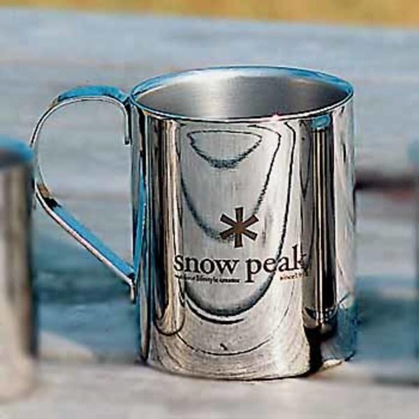 スノーピーク(snow peak) スノーピークロゴダブルマグ330 MG-113 ステンレス製マグカップ