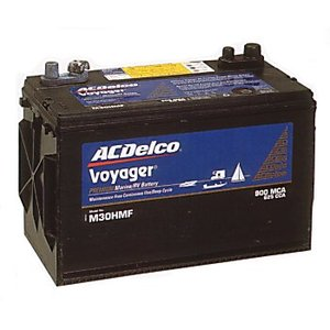 ACデルコ ボイジャー 115Aバッテリー
