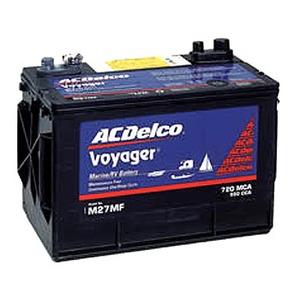 ACデルコボイジャー 105Aバッテリー