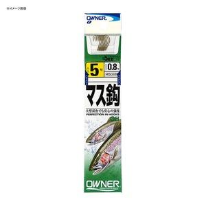 オーナー針 OHマス 糸付 7号-1 茶 20601